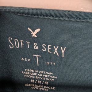aerie Tops - Aerie Soft & Sexy Tee with Flared Wrists